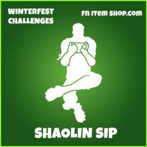 shaolin sip uncommon fortnite emote