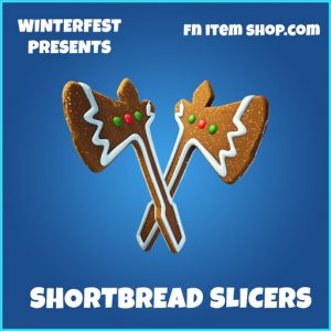 Shortbread Slicers rare fortnite pickaxe