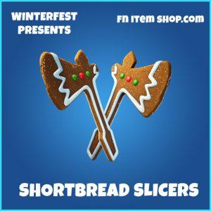 Shortbread Slicers rare fortnite pickaxe
