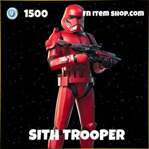 The Sith Trooper star wars fortnite skin