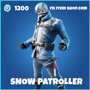 Snow patroller rare fortnite skin