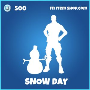 Snow day rare fortnite emote