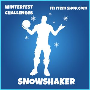 Snowshaker rare fortnite emote