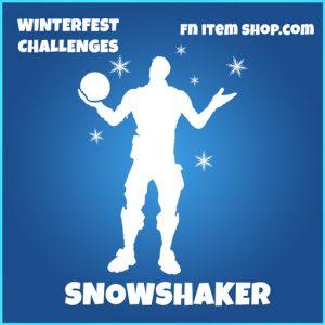 Snowshaker rare fortnite emote