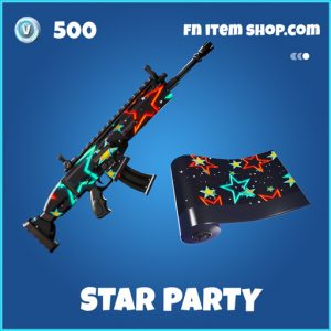 star party rare fortnite wrap