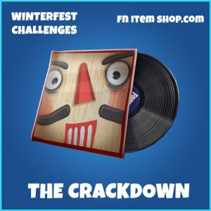 The crackdown rare music pack fortnite
