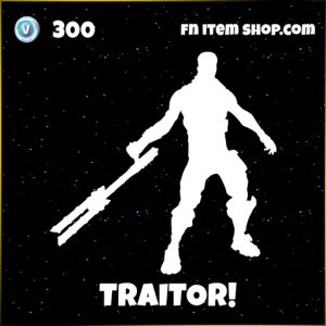Traitor star wars fortnite emote