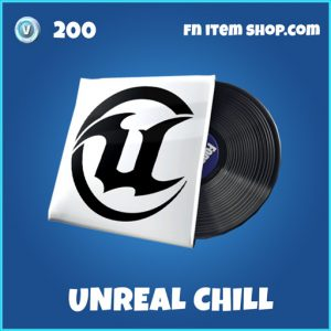 Unreal chill rare music pack fortnite
