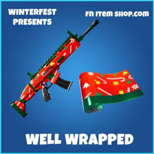 well wrapped rare fortnite wrap