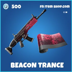 Beacon Trance rare fortnite wrap