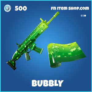Bubbly rare fortnite wrap