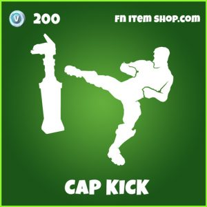 cap kick uncommmon fortnite emote