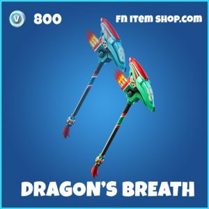 Dragon's Breath rare fortnite pickaxe