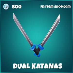 dual katanas ninja fortnite pickaxe