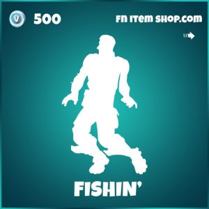 Fishin' Fortnite emote icon series
