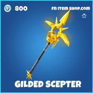 Gilded scepter rare fortnite pickaxe