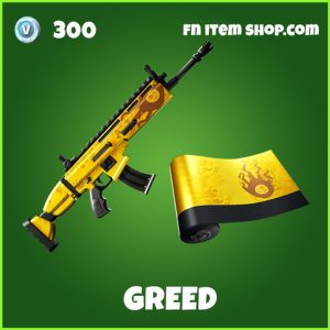 Greed uncommon fortnite wrap