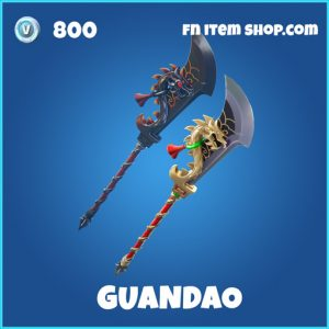 Guandao rare fortnite pickaxe