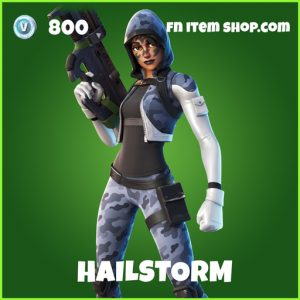 Hailstorm uncommon fortnite skin
