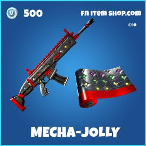 Mecha-jolly rare fortnite wrap