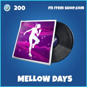Mellow Days rare fortntie musick pack