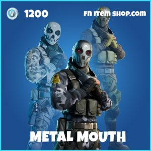 Metal Mouth rare fortnite skin