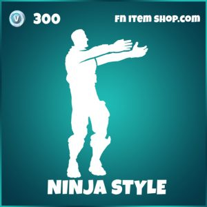 Ninja style icons fortnite emote