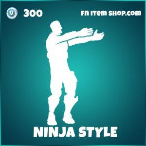 Ninja style icons fortnite emote