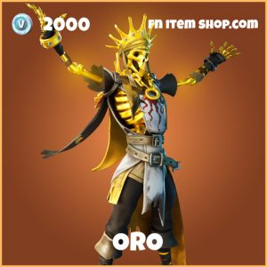 Oro legendary fortnite skin
