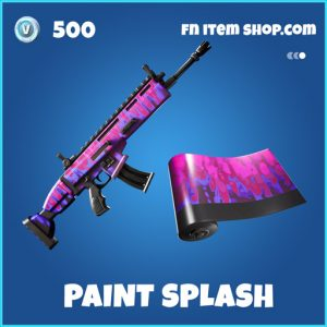 Paint Splash rare fortnite wrap