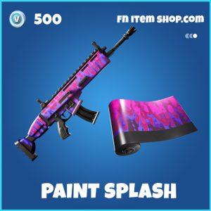 Paint Splash rare fortnite wrap