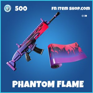 Phantom Flame rare fortnite wrap
