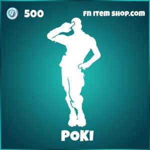 poki icon fortnite emote pokimane