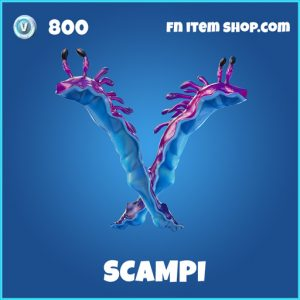 scampi rare fortnite pickaxe