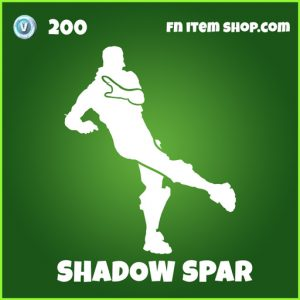 shadow spar uncommmon fortnite emote