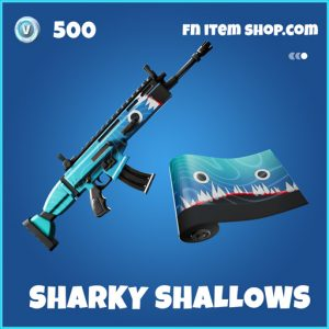 Sharky Shallows rare fortnite wrap