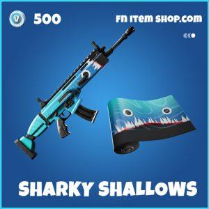 Sharky Shallows rare fortnite wrap