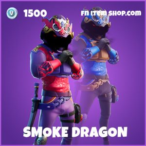 Smoke dragon epic fortnite skin