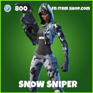 snow sniper uncommon fortnite skin