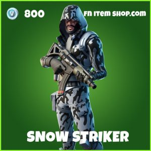 snow striker uncommon fortnite skin