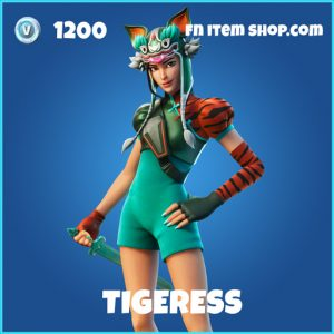 Tigeress rare fortnite skin