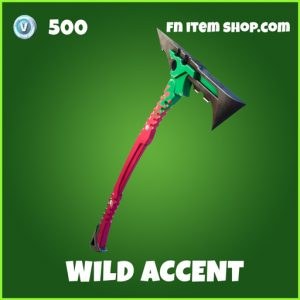 wild accent uncommon fortnite pickaxe