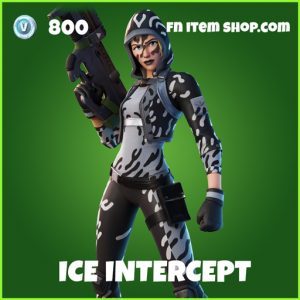 ice intercept uncommon fortnite skin