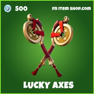 lucky axes uncommon fortnite pickaxe
