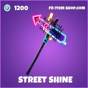 Street shine epic fortnite pickaxe