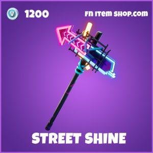 Street shine epic fortnite pickaxe