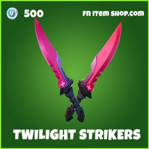 Twilight Strikers uncommon fortnite pickaxe