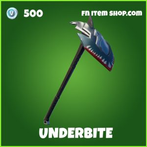 underbite uncommon fortnite pickaxe