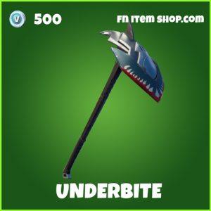 underbite uncommon fortnite pickaxe