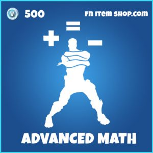 Advanced math rare fortnite emote
